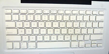 "MacBook 13"" A1181 White US Standard Replacement Keyboard Single Key w/Hinge"