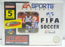 FIFA INTERNATIONAL SOCCER MATTHAUS COVER - SNES SUPER NINTENDO PAL BOXED