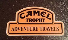 2 X CAMEL TROPHY STICKERS DECAL CAR LAND ROVER RANGE 4x4 OFF ROAD FREE P&P