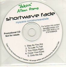 (901D) Shortwave Fade, Stay As You Are - DJ CD