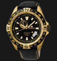 NEW MEN'S SEIKO SUPERIOR LIMITED EDITION 24 JEWEL AUTOMATIC WATCH SSA190K1