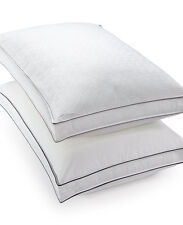 Hotel Collection Luxe Down Alternative Firm Support Gusset STANDARD Pillow B049