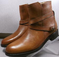 789551032 LMSBBT50 Womens Leather Brown Boot Size 9, Johnston & Murphy