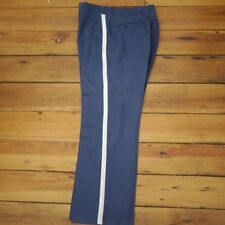 Handmade Civil War Reenactment Union Soldier Blue Silver Stripe Pants 31 x 28
