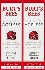 Burt's Bees Naturally Ageless Intensive Repairing Serum, 0.45 Fluid Ounces 2Pack