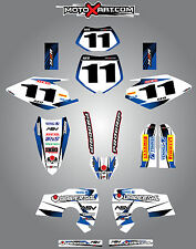 Full  Custom Graphic  Kit - STORM - Husaberg 2006 - 2008 stickers / decals