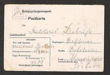 WWII-GERMANY OCC SERBIA- POW POSTCARD - X A- (35) - 1943.