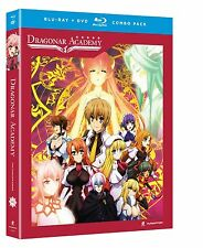 Dragonar Academy . The Complete Series . Anime . 2 DVD + 2 Blu-ray . NEU
