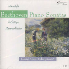 David Allen Wehr, Beethoven - Piano Sonatas / CD (neu, OVP)