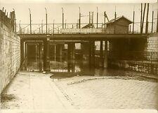 """""""Inondation de la rue WATT à PARIS 1931"""" Photo originale G. DEVRED (Agce ROL)"""