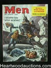 Men Mar 1953 Submarine thru iceberg cover, Boxing, Bullfighting