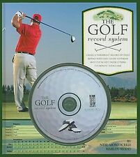 The Golf Record System by Neil-Monticelli BRAND NEW BK