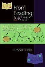 From Reading to Math : How Best Practices in Literacy Can Make You a Better Math