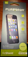 NEW PUREGEAR ReShield iPhone 5 5c 5s MATTE Anti-Glare Screen Protector G00052PG