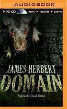 The Rats: Domain 3 by James Herbert (2015, MP3 CD, Unabridged)