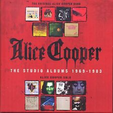 Alice Cooper - Studio Albums 1969-1983 [CD New] - 15 Disc Box Set
