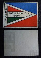 ***CALCIATORI RITMO CALTAGIRONE 1968/69*** SCUDETTO GENOA 1904