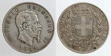 pci0092) Regno Vittorio Emanuele II lire 5 scudo 1869 NC