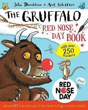 NEW GRUFFALO RED NOSE DAY BOOK with over 250 STICKERS & Recipes Jokes Games