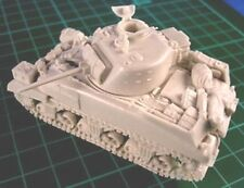 Milicast BB041 1/76 Resin WWII British Sherman II-M4A1 (Mid-Production+Stowage)