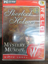 Sherlock Holmes - The Mystery of the Mummy - White Label  PC-CD ROM version