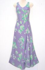 NWT Catherine Stewart Bellepointe Beautiful Lavender Linen Long Dress Parts Sz 8