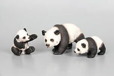 3pcs a set of Schleich Toy Animal Figurine Wild Life Pandas loose Figure