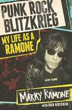 Marky Ramone Punk Rock Blitzkrieg: My Life as a Ramone  AUTOGRAPHED the ramones