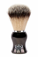 OMEGA Shaving Brush Synthetic Badger Fibre Hi Quality Shaving Brush