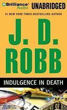INDULGENCE IN DEATH unabridged audio book on CD by J.D. ROBB (Nora Roberts)