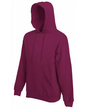 FRUIT OF THE LOOM SS224 SUDADERA CON CAPUCHA 17 COLORES S - XXL