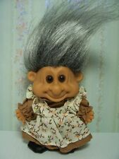 "OLD LADY / WOMAN / GRANNY/ GRANDMA  - 5"" RUSS TROLL DOLL - NEW IN ORIGINAL BAG"