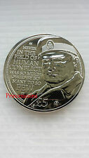 2015*UNC*BAILIWICK OF JERSEY CHURCHILL HUMAN CONFLICT £5 FIVE POUND COIN
