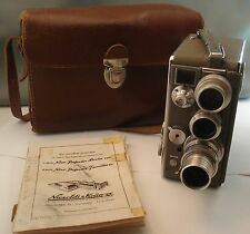 Nizo Heliomatic 8 2x8 Model S2R Movie Camera with Rodenstock Lenses +-Double 8mm