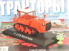 """1:43 Traktor DT-175 """"Wolgar"""" russian Magazin Nr.24 Hachette USSR UdSSR Tractor"""