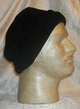 """Nice Black Polyester Hat - One Size Fits Most Adult 22""""D"""