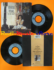 LP 45 7'' MARIA VIDAL Do me right Nothing's alive without you 1988 A&M cd*mc dvd