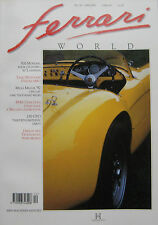 Ferrari World magazine No.20 December 1992/Jan 1993 500 Mondial, 456 GT, 250 GTO