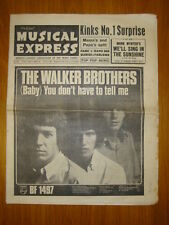 NME #1017 1966 JUL 8 WALKER BROTHERS KINKS DAVE DEE
