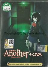 ANOTHER + OVA - COMPLETE TV SERIES 1-13 EPS DVD BOX SET (ENG SUBS)
