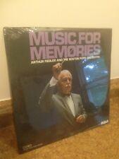 ARTHUR FIEDLER & THE BOSTON POPS, MUSIC FOR MEMORIES LP, NEW, SEALED