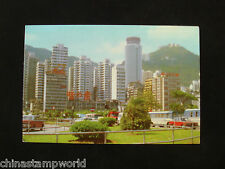 old HK postcard,the cylindrical building hving stories is Hopewell centre12.9.90