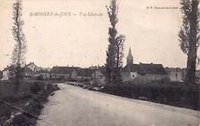 SAINT-BONNET-DE-JOUX vue générale écrite 1916