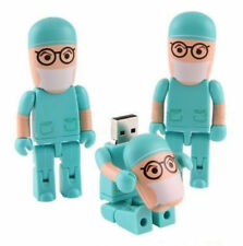 Hot New Gifts Funny Folding Men Doctor USB 2.0 Memory Stick Flash pen Drive 8GB