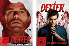 4 DVDs * DEXTER - STAFFEL / SEASON 5 + 6  # NEU OVP =