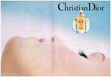 Publicité Advertising 1992 (2 pages) Parfum Dune par Christian Dior