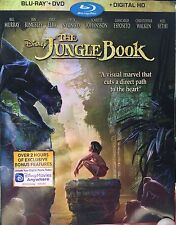 ✔Sealed Disney's The Jungle Book (Blu-ray/DVD, Digital HD 2016) New LIVE ACTION