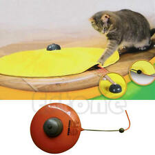 Funny Moving Mouse Cats Meow Play Undercover Fabric Cat Toy For Cat Kitty New