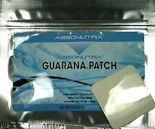 Guarana Patch for Energy + Vitamin B12 and Caffeine Absonutrix B-12 Patches