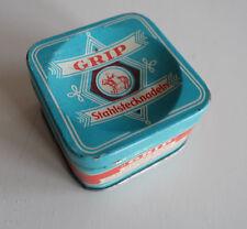 1 Blechdose von Grip Stahlstecknadeln Nostalgie Dose  6 x 6 x 3,5 cm